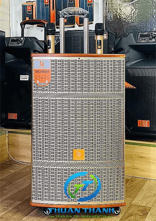 Loa kéo BOK HA15-29, loa karaoke vỏ gỗ, công suất đỉnh 500W