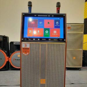 Loa kéo di động BOK Q33 loa karaoke có màn hình cảm ứng